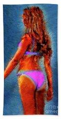 Clitorisandrea Beach Towel