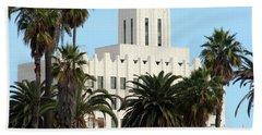 Clock Tower Building, Santa Monica Beach Towel