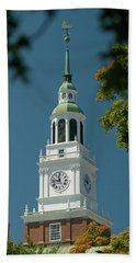 Clock Tower Beach Towel