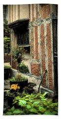 Cloister Garden - Cirencester, England Beach Towel