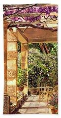 Clos Du Peyronnet Gardens Provence Beach Towel