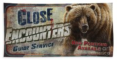 Close Encounters Bear Beach Towel