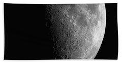 Close-up Of Moon Beach Sheet