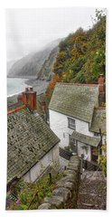 Clovelly Coastline Beach Towel