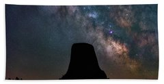 Beach Towel featuring the photograph Closer Encounters by Darren White