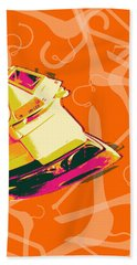 Clothes Iron Pop Art Beach Sheet