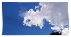 Cloud And Light  Beach Towel by Warren Thompson
