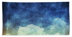 Cloud And Sky At Night Beach Towel