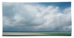 Cloud Bank Over Chatham Beach Towel