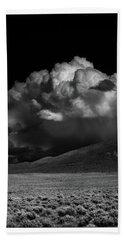 Cloud Burst Beach Sheet