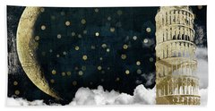 Cloud Cities Pisa Italy Beach Sheet by Mindy Sommers