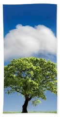 Cloud Cover Beach Towel by Mal Bray