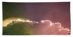 Cloud Eruption Beach Sheet