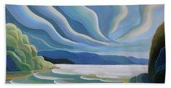 Cloud Forms Beach Towel