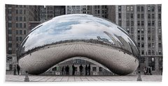 Cloud Gate Beach Towel
