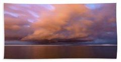 Cloud Motion At Dawn  Beach Sheet