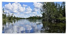 Cloud Reflections Beach Sheet
