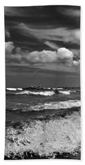 Cloud Sound Drama Beach Towel