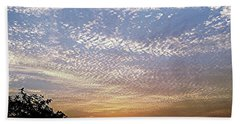 Cloud Swirl At Sunrise Beach Towel