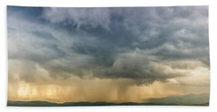 Storm Clouds - Blue Ridge Parkway Beach Sheet