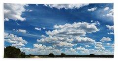 Clouddom Road Beach Sheet