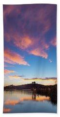Clouds Above Lake Murray Beach Towel