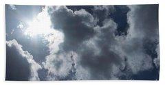 Beach Sheet featuring the photograph Clouds And Sunlight by Megan Dirsa-DuBois