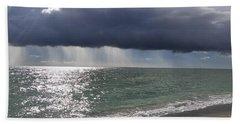 Clouds Gather Over Captiva Beach Towel