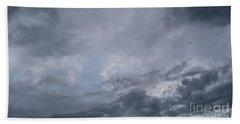 Beach Sheet featuring the photograph Clouds by Megan Dirsa-DuBois