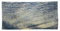 Beach Towel featuring the photograph Clouds Of That Day  by Lyle Crump