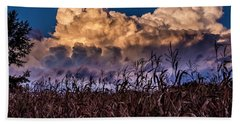 Clouds Over Fagagna Beach Towel