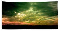 Clouds Over Ireland Beach Sheet