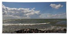 Clouds Over Sea Beach Sheet