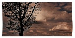 Clouds Over Shenandoah Beach Towel