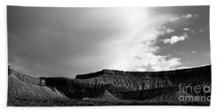 Clouds  Over The Mesa Beach Towel