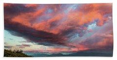 Clouds Over Warner Springs Beach Towel