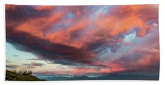 Clouds Over Warner Springs Beach Towel