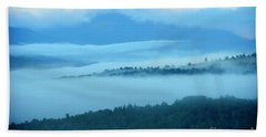 Clouds Over Western Foothills Beach Towel