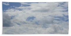 Clouds Photo IIi Beach Towel