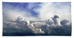 Cloudscape Fourteen Beach Towel by Tom Druin