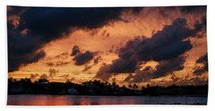 Beach Towel featuring the photograph Cloudscape by Laura Fasulo
