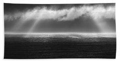Cloudy Day At The Sae Beach Sheet by Gunnar Orn Arnason