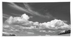 Cloudy Day Beach Sheet