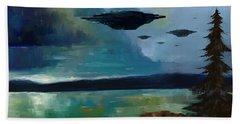 Cloudy Skies Beach Sheet