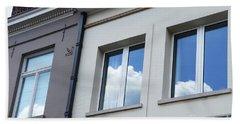 Cloudy Windows Beach Sheet