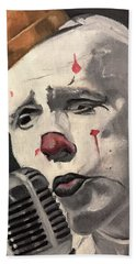 Clown Beach Towel