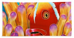 Clown Fish  Beach Towel