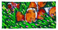 Clownfish II Beach Towel