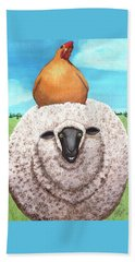 Cluck Ewe Beach Towel