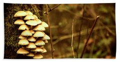 Cluster O Shrooms Beach Towel